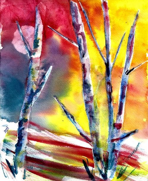 Birches III